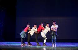 Danza popolare superiore coreana del cittadino della ciotola- Fotografia Stock Libera da Diritti