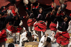 Danza popular Foto de archivo libre de regalías