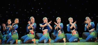 Danza popular Fotos de archivo libres de regalías
