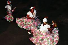 Danza popular brasileña Imagen de archivo libre de regalías