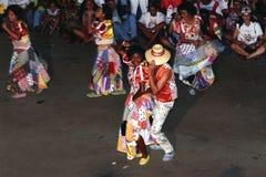 Danza popular brasileña imagen de archivo