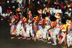 Danza popular brasileña fotos de archivo libres de regalías