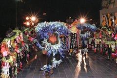 Danza popular brasileña Foto de archivo