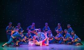 Danza popular Casamentero-Tórtola-china fotografía de archivo libre de regalías