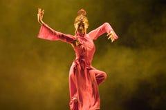 Danza popular china Foto de archivo libre de regalías