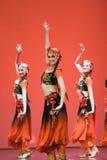 Danza popular china imagen de archivo