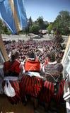 DANZA POPULAR DEL CÍRCULO Imagenes de archivo