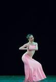 Danza popular del chino foto de archivo