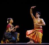 Danza popular india: Shankara Sri Giri Fotografía de archivo libre de regalías