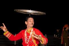 Danza popular mexicana Fotos de archivo