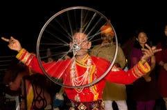 Danza popular mexicana Imagen de archivo libre de regalías