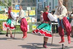 Danza popular mexicana Foto de archivo libre de regalías