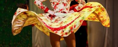 Danza popular rusa Fotos de archivo
