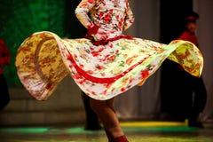 Danza popular rusa Imagen de archivo