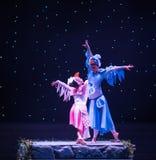 Danza popular Tórtola-china imagen de archivo libre de regalías