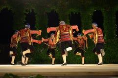 Danza popular turca Imágenes de archivo libres de regalías
