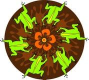 Danza redonda stock de ilustración