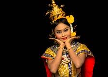 Danza tailandesa Imagenes de archivo