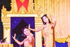 Danza tailandesa Foto de archivo libre de regalías