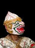 Danza tailandesa de la máscara Imágenes de archivo libres de regalías