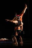 Danza tradicional única Imagen de archivo