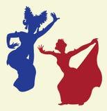 Danza tradicional 1 Imagen de archivo