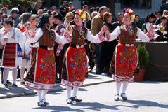 Danza tradicional Fotos de archivo