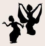 Danza tradicional 2 Foto de archivo libre de regalías