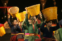 Danza tradicional Fotografía de archivo libre de regalías