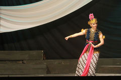 Danza tradicional Foto de archivo