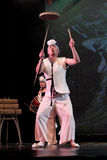 Danza tradicional coreana Imagen de archivo libre de regalías