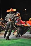 Danza tradicional de México Imágenes de archivo libres de regalías