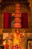 Danza tradicional de Rajasthán Fotografía de archivo