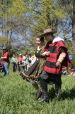 Danza tradicional en el día de St Francis de Assisi, Chile Foto de archivo