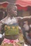 Danza tradicional en Ghana Fotografía de archivo