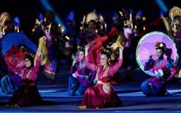 Danza tradicional indonesia Imagen de archivo libre de regalías