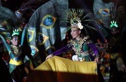 Danza tradicional indonesia Fotos de archivo libres de regalías