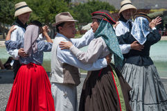 Danza tradicional, Tenerife, España Fotos de archivo