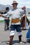 Danza tradicional, Tenerife, España Fotografía de archivo libre de regalías