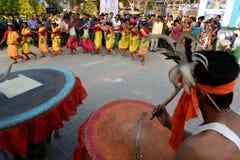 danza tribal Imagen de archivo libre de regalías