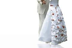Danza Wedding foto de archivo libre de regalías