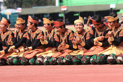 Danzas de Aceh fotos de archivo
