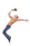 Danzas del baile del bailarín Imagenes de archivo