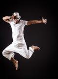 Danzas del baile del bailarín fotografía de archivo libre de regalías