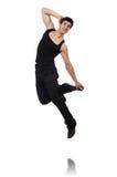 Danzas del baile del bailarín aisladas Fotos de archivo libres de regalías