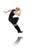 Danzas del baile del bailarín aisladas Foto de archivo