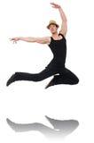 Danzas del baile del bailarín aisladas Fotos de archivo