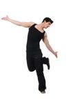 Danzas del baile del bailarín Foto de archivo