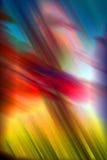 danzas en un arco iris Fotos de archivo libres de regalías