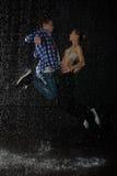 Danzas modernas. Imagenes de archivo